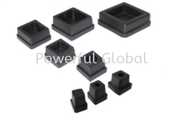 Rubber-Square-Internal-Cap-Cover 12mm-75mm Ind. Rubber Parts Malaysia, Selangor, Kuala Lumpur (KL), Rawang Manufacturer, Supplier, Supply, Supplies | Powerful Global Supplies