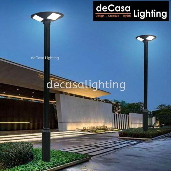 150W SOLAR POLE LIGHT 3 METER HEIGHT c/w Remote Controller Outdoor Garden Pole Light OUTDOOR LIGHT Selangor, Kuala Lumpur (KL), Puchong, Malaysia Supplier, Suppliers, Supply, Supplies | Decasa Lighting Sdn Bhd