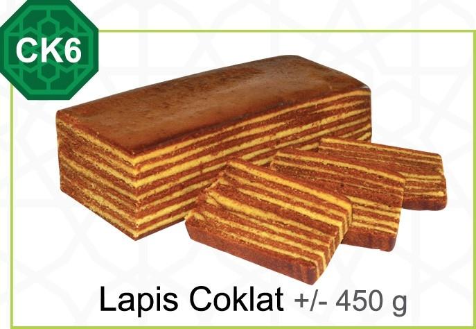 Lapis Coklat +/- 450 g