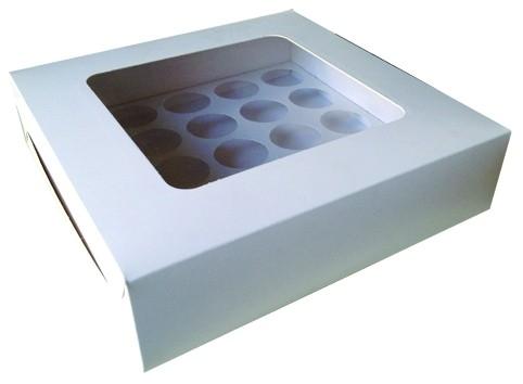 Z28 - 25 Cup Cakes Box Gift Box Packaging Malaysia, Selangor, Kuala Lumpur (KL), Shah Alam, Petaling Jaya (PJ) Supplier, Manufacturer, Supply, Supplies | Milky Way Food Industries Sdn Bhd