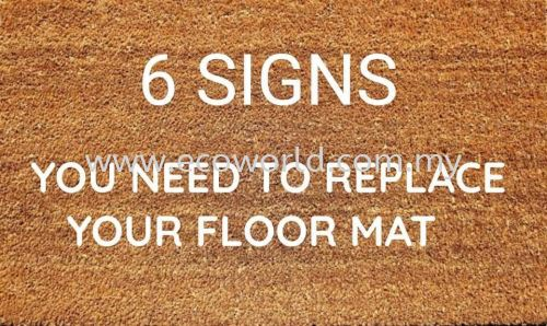 6 signs-You Need To Repair Your Floor Mat