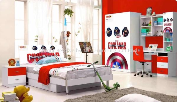 Little Civil  Bedroom Set  Little World  Kuala Lumpur (KL), Malaysia, Selangor, Semenyih Supplier, Suppliers, Supply, Supplies | T & N Furniture Sdn Bhd