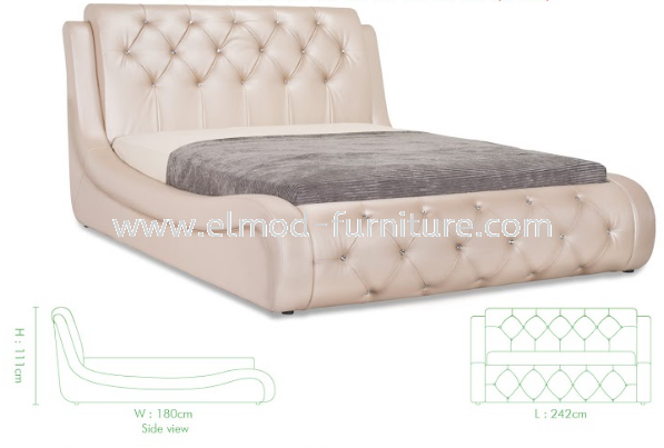 GB162C Heidi Bed Frame  Bedroom Set Selangor, Kuala Lumpur (KL), Puchong, Malaysia Supplier, Suppliers, Supply, Supplies | Elmod Online Sdn Bhd