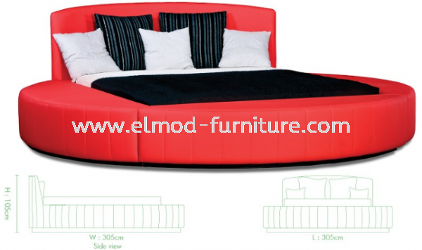 GB166 Margo Bed Frame  Bedroom Set Selangor, Kuala Lumpur (KL), Puchong, Malaysia Supplier, Suppliers, Supply, Supplies | Elmod Online Sdn Bhd