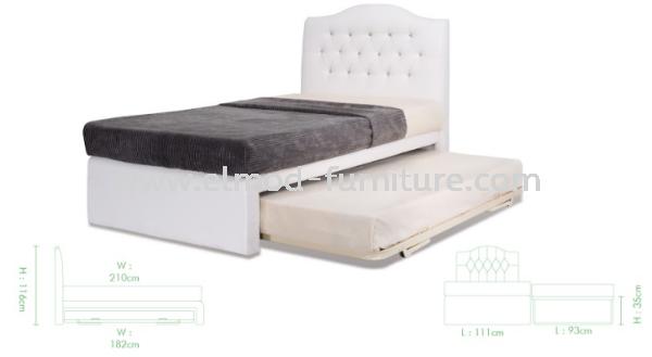 GB174A Aero Bed Frame  Bedroom Set Selangor, Kuala Lumpur (KL), Puchong, Malaysia Supplier, Suppliers, Supply, Supplies | Elmod Online Sdn Bhd