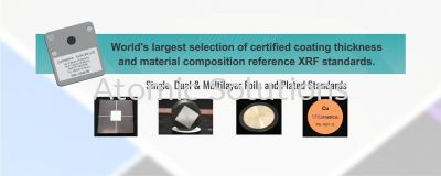 Standard of calibration ( ISO ) XRF thickness, RoHs