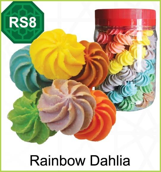 RS8-Rainbow Dahlia