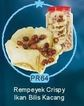 PR64 Rempeyek Ikan Bilis Hari Raya Products Malaysia, Selangor, Kuala Lumpur (KL), Shah Alam, Petaling Jaya (PJ) Supplier, Manufacturer, Supply, Supplies | Milky Way Food Industries Sdn Bhd