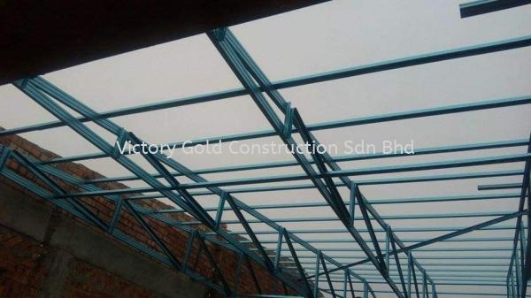 Roof Truss Melaka, Malaysia, Bukit Katil Service, Supplier, Supply, Supplies | VICTORY GOLD CONSTRUCTION SDN BHD