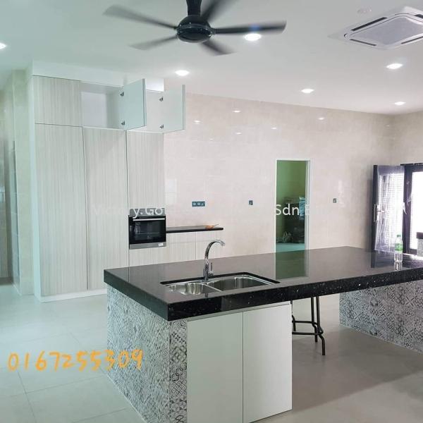 Dry Kitchen Design Interior Design Melaka, Malaysia, Bukit Katil Service, Supplier, Supply, Supplies | VICTORY GOLD CONSTRUCTION SDN BHD