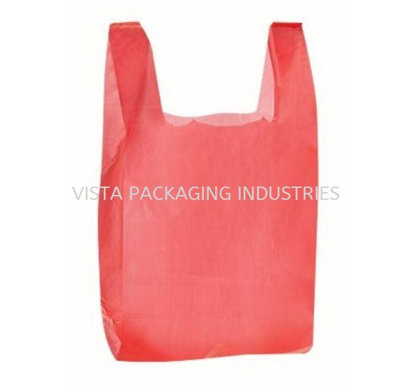 HAND BAG (RED) JANITORIAL & HYGIENE INDUSTRIAL CONSUMER ITEM & PERSONAL SAFETY PRODUCTS Selangor, Klang, Malaysia, Kuala Lumpur (KL) Supplier, Suppliers, Supply, Supplies | VISTA PACKAGING INDUSTRIES (M) SDN. BHD.