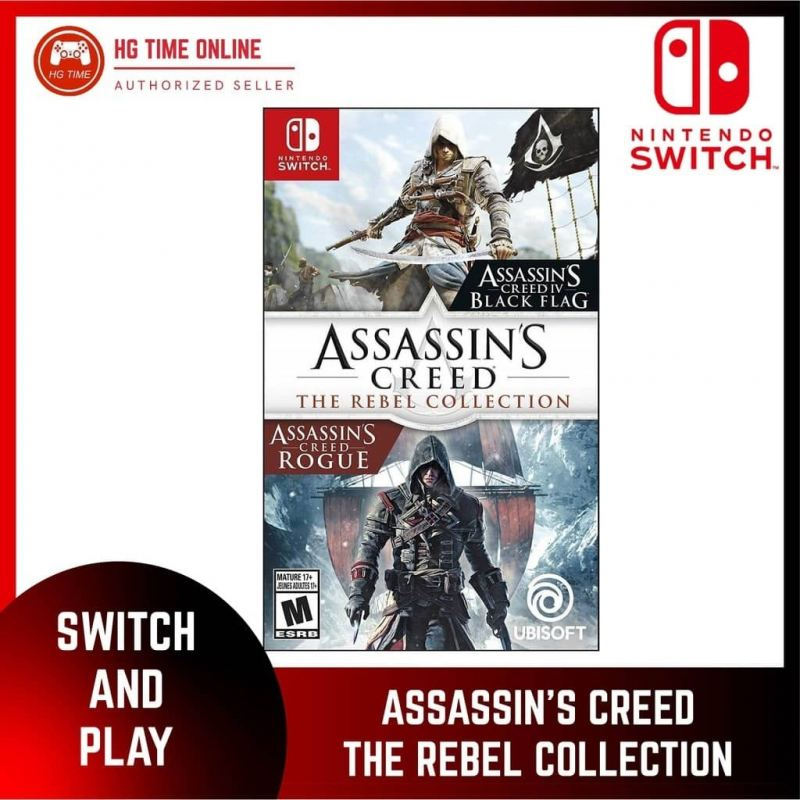 NSW ASSASSIN'S CREED THE REBEL COLLECTION