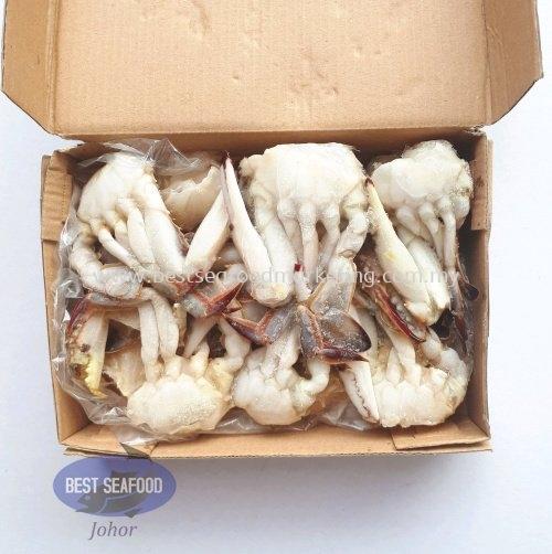 Flower Crab (cut) / ╗ели (Кл║├) / Ketam Bunga (potong) (sold per pack) Crab / здли Frozen / └СХ│ Johor Bahru (JB), Skudai, Malaysia Wholesaler, Supplier, Supply, Retailer | BEST Seafood Marketing (Johor) Sdn Bhd