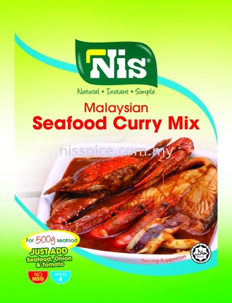 Nis Malaysian Seafood Curry Mix Instant Mixed Spices Skudai, Johor Bahru (JB), Malaysia. Manufacturers, Suppliers, Supply, Supplies | NIS Spice Manufacturing Sdn Bhd