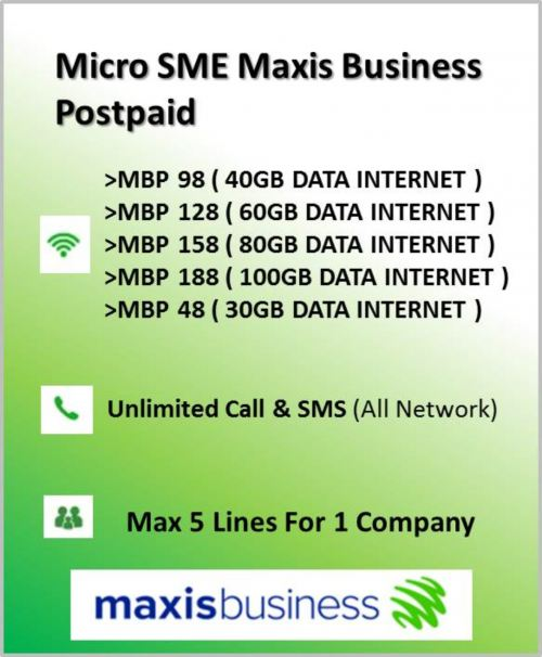 Maxis Business Postpaid With Solution