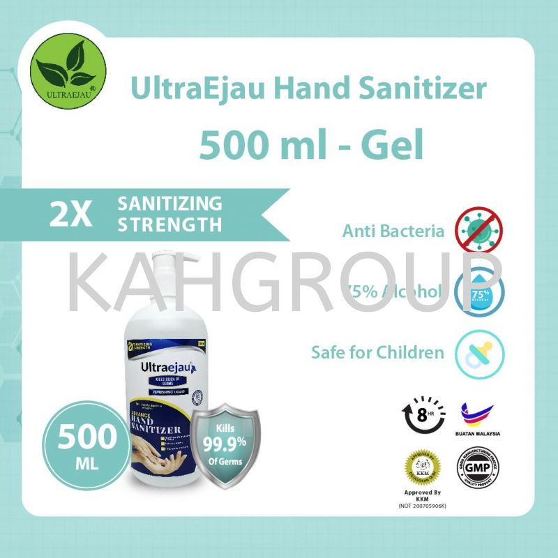UltraEjau Hand Sanitizer 500ml - Gel