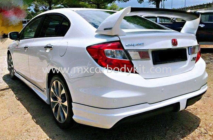 HONDA CIVIC FB 2012 MUGEN V1 SPOILER CIVIC FB 2012 - 2015 HONDA Johor, Malaysia, Johor Bahru (JB), Masai. Supplier, Suppliers, Supply, Supplies | MX Car Body Kit