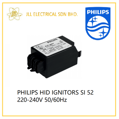 PHILIPS HID IGNITOR SI 52 220V-240V 50/60Hz (HPI 1000W-2000W)