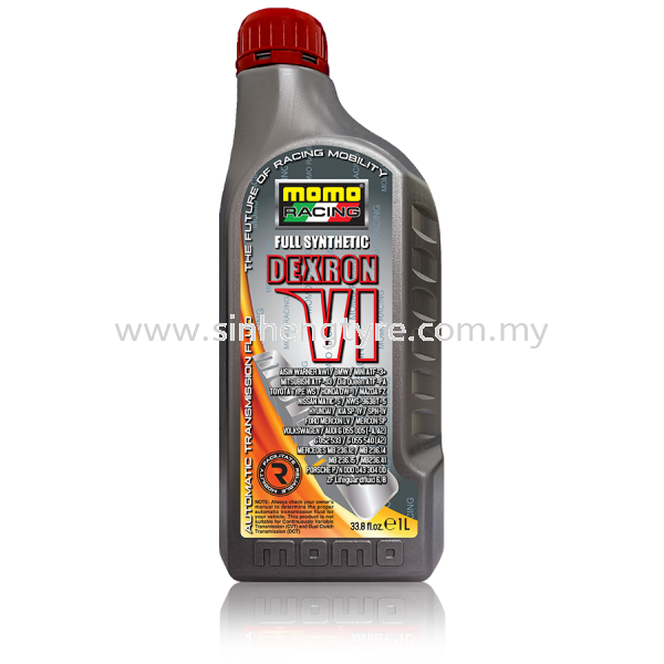 MOMO GM DEXRON VI - 1L MOMO Racing Automatic Transmission Fluid (ATF) Lubricants Johor Bahru (JB), Malaysia, Perling Supplier, Suppliers, Supply, Supplies | Sin Heng Tyre & Battery Co. Sdn Bhd