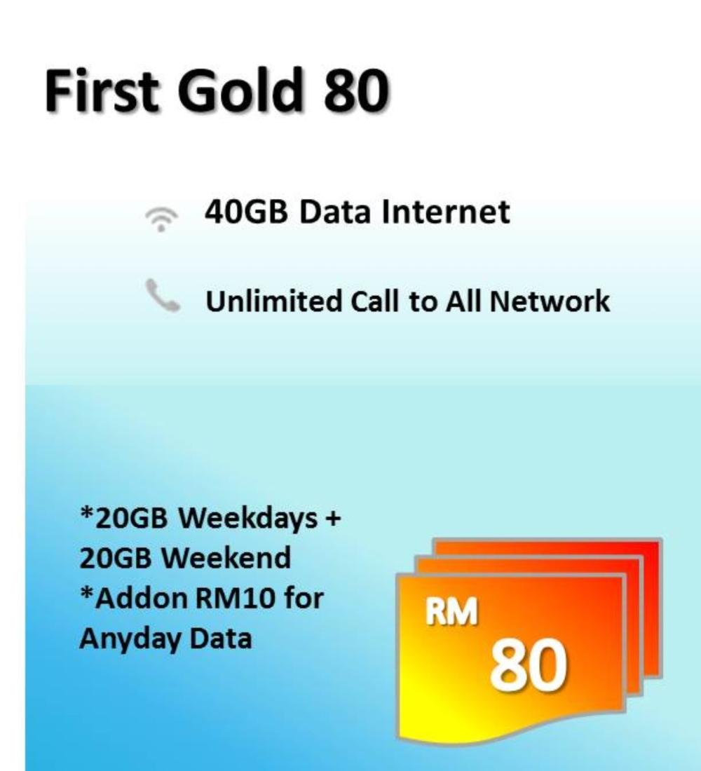CELCOM FIRST GOLD 80