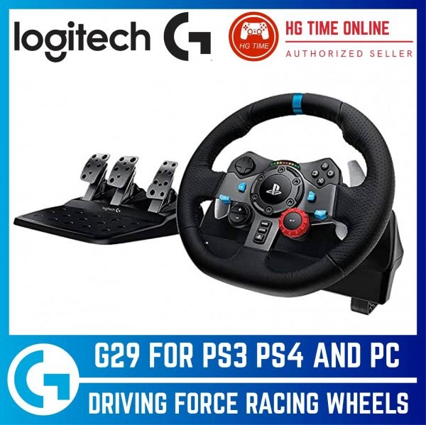 Logitech G29 DRIVING FORCE RACING WHEEL for PS4, PS3 and PC | + LOGITECH FORCESHIFTER Racing Wheels Logitech Peripherals Malaysia, Selangor, Kuala Lumpur (KL), Klang, Shah Alam, Banting Supplier, Suppliers, Supply, Supplies | HG Time Enterprise