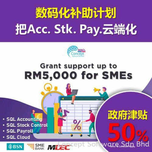 Support Malaysian SMEs in digital adoption under the SME Business Digitalisation Grant