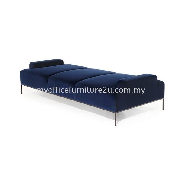 ISDB403 Day Bed Sofa Epoxy Frame (Fabric/Pu Leather)