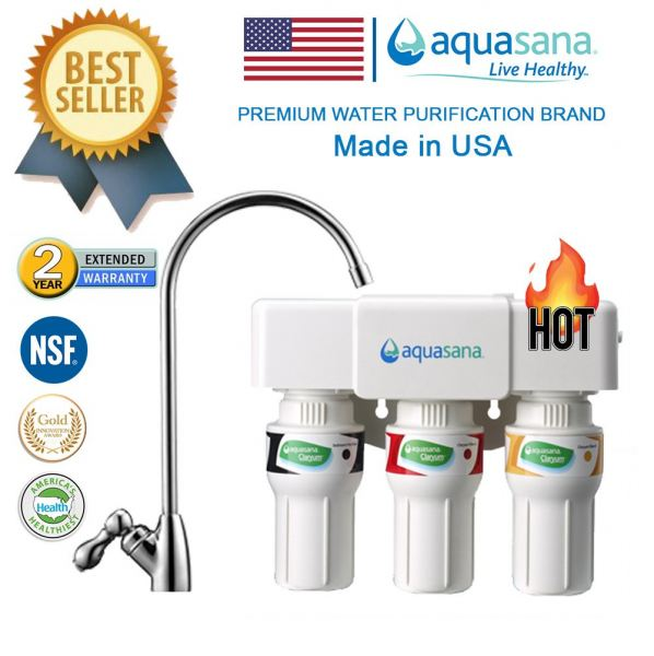 AQUASANA AQ-5300 Water Filter Water Purifier Filter - Made In USA (4 NSF Approved, 2 Years Housing Warranty)  Drinking System Malaysia, Selangor, Kuala Lumpur (KL), Puchong Distributor, Supplier, Supply, Supplies | Water Shop (M) Sdn Bhd