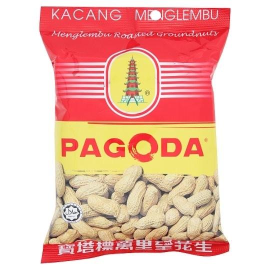 Pagoda Menglembu Roasted Groundnuts - Kacang Menglembu (120 gm) Snacks Selangor, Malaysia, Kuala Lumpur (KL), Puchong Supplier, Suppliers, Supply, Supplies | Hello Pasar Sdn Bhd