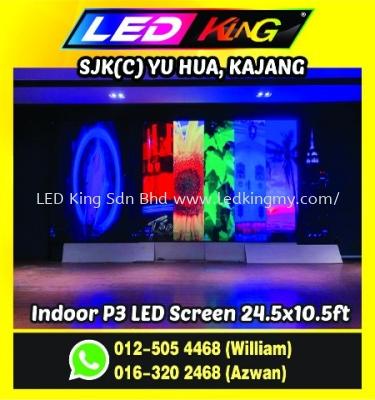 P3 Indoor LED Screen