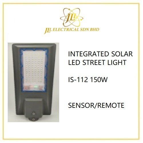 INTEGRATED SOLAR LED STREET LIGHT IS-112 150W 10-12HOURS
