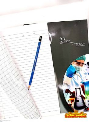 Uni A4 Science Notebook 80 Pages