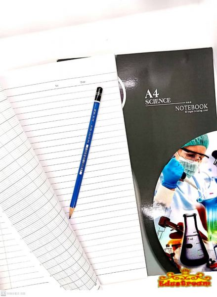 Uni A4 Science Notebook 80 Pages Graph Paper Paper Product Stationery & Craft Johor Bahru (JB), Malaysia Supplier, Suppliers, Supply, Supplies | Edustream Sdn Bhd