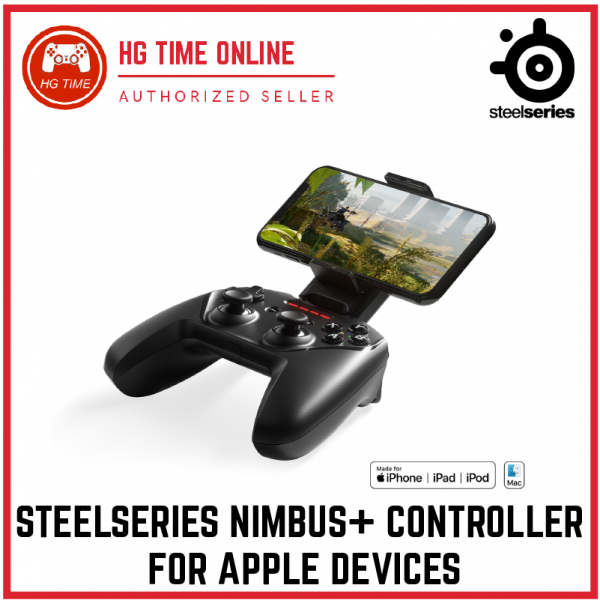 Nimbus+ for Apple Devices Controller Accesorries Steelseries Peripherals Malaysia, Selangor, Kuala Lumpur (KL), Klang, Shah Alam, Banting Supplier, Suppliers, Supply, Supplies | HG Time Enterprise