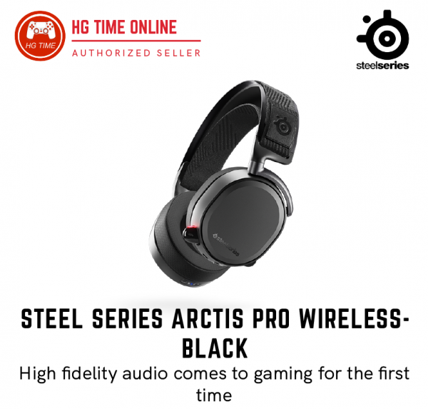 Arctis Pro Wireless Gaming Headset -Black Headsets Steelseries Peripherals Malaysia, Selangor, Kuala Lumpur (KL), Klang, Shah Alam, Banting Supplier, Suppliers, Supply, Supplies | HG Time Enterprise