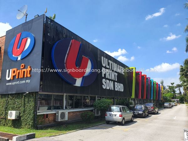 Ultimate Print Sdn Bhd  giant big 3d aluminium box up LED conceal lettering sigange signboard and light box project at shah alam  ALUMINIUM BIG 3D BOX UP LETTERING SIGNAGE Selangor, Malaysia Supply, Manufacturers, Printing | Great Sign Advertising (M) Sdn Bhd