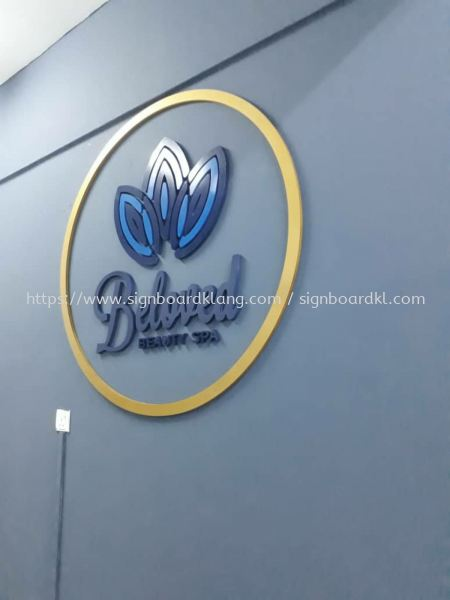 Beloved indoor 3D box up lettering signage at Kuala Lumpur 3D BOX UP LETTERING Selangor, Malaysia Supply, Manufacturers, Printing | Great Sign Advertising (M) Sdn Bhd
