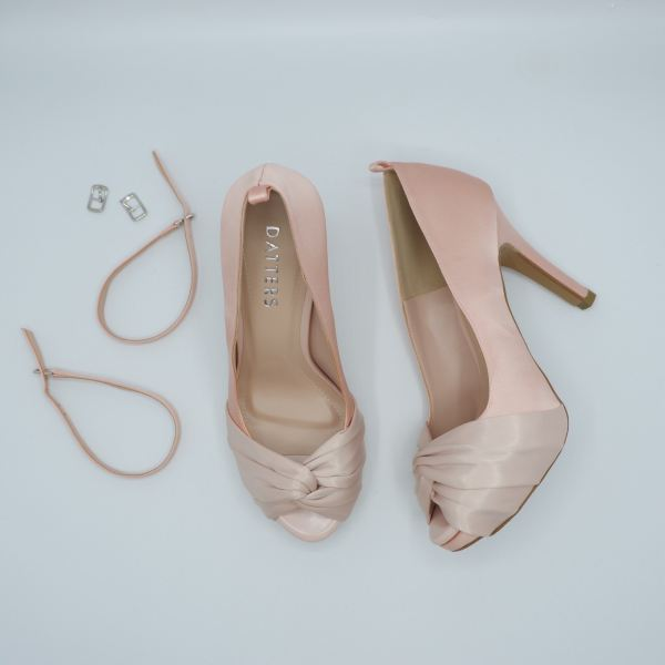 Pinky Stella Silk Platforms Ready Made Shoes Johor Bahru (JB), Malaysia, Southkey Supplier, Suppliers, Supply, Supplies | Datters Enterprise Sdn Bhd