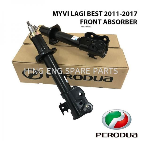 Perodua Myvi Lagi Best (11Y-17Y) Genuine Absorber (Front) Absorber Suspension System Perodua Selangor, Malaysia, Kuala Lumpur (KL), Sungai Pelek Supplier, Suppliers, Supply, Supplies | Hing Eng Spare Part Centre