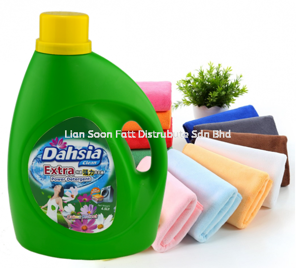 4500ml Color Protect Detergent (Green) Cleaning Product Home Care Perak, Malaysia, Ipoh Supplier, Wholesaler, Distributor, Supplies | LIAN SOON FATT DISTRIBUTE SDN BHD