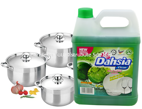 5000ml DishWash (Lime) Cleaning Product Home Care Perak, Malaysia, Ipoh Supplier, Wholesaler, Distributor, Supplies | LIAN SOON FATT DISTRIBUTE SDN BHD