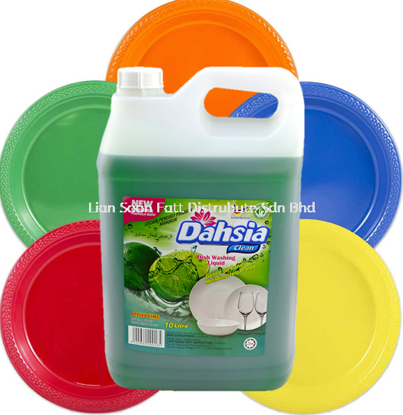 10 Litre DishWash (Lime) Cleaning Product Home Care Perak, Malaysia, Ipoh Supplier, Wholesaler, Distributor, Supplies   LIAN SOON FATT DISTRIBUTE SDN BHD