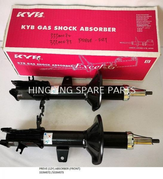 Proton Preve (12Y) KYB Excel-G Absorber (Rear) Absorber Suspension System Proton Selangor, Malaysia, Kuala Lumpur (KL), Sungai Pelek Supplier, Suppliers, Supply, Supplies | Hing Eng Spare Part Centre