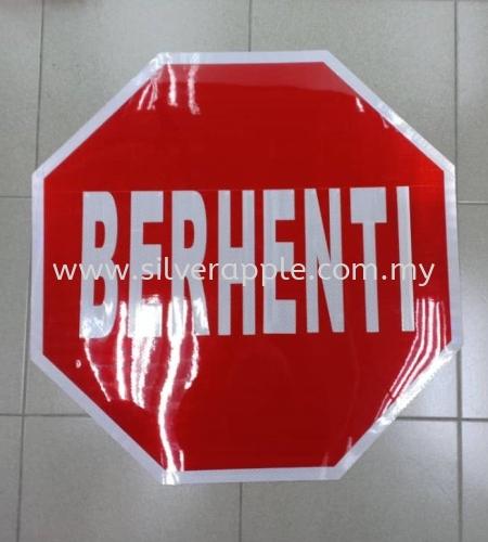 Berhenti Sign