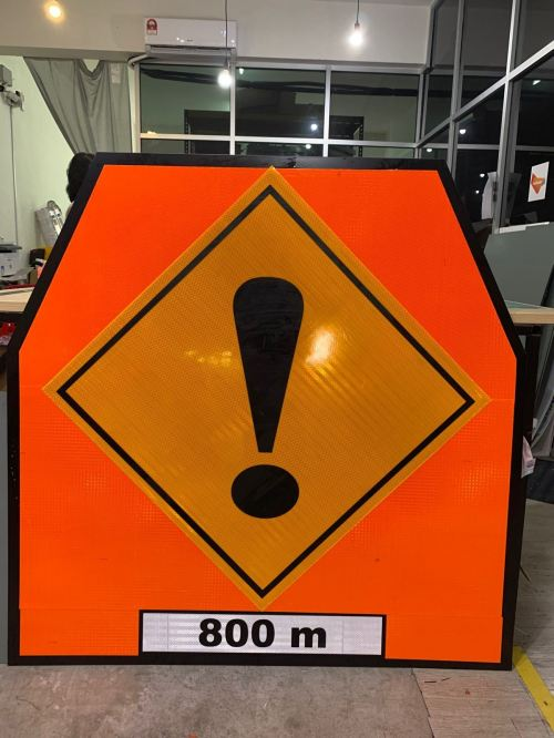 VSAFEMKT JKR TEMPORARY TRAFFIC SIGN