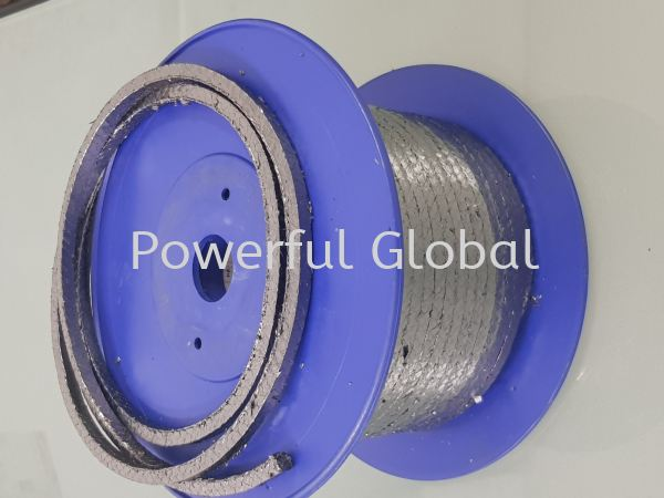 PURE Graphite Braided Square Packing Graphite Packing  Gland Packing  Malaysia, Selangor, Kuala Lumpur (KL), Rawang Manufacturer, Supplier, Supply, Supplies   Powerful Global Supplies