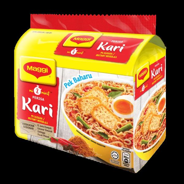 Maggi Instant Noodles (Curry Flavor) - Mi Segera Perisa Kari (5 x 79 gm) Noodles Noodles, Dry & Canned Goods  Selangor, Malaysia, Kuala Lumpur (KL), Petaling Jaya (PJ) Supplier, Suppliers, Supply, Supplies | Hello Pasar Sdn Bhd