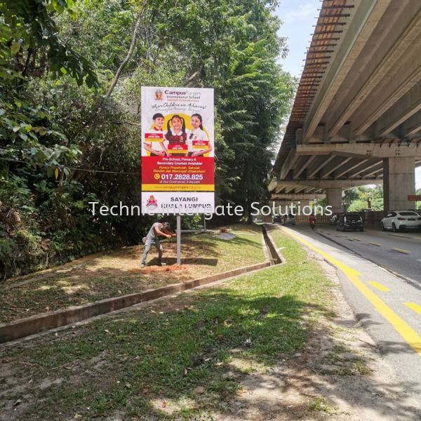 Out Door Sign  Billboard & Giant Banner Kuala Lumpur (KL), Malaysia, Selangor, Mont Kiara Manufacturer, Supplier, Supply, Supplies | Intergate Solutions Sdn Bhd