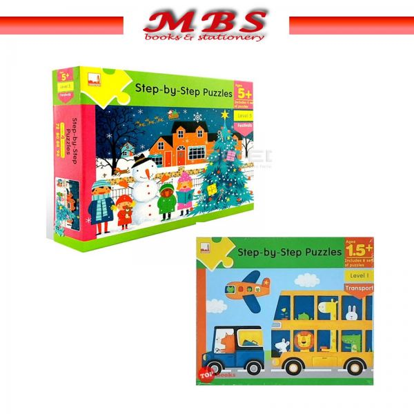 Step-by-Step Puzzles Early Learning Books Pahang, Malaysia, Terengganu, Kuantan, Mentakab, Pekan Supplier, Suppliers, Supply, Supplies | MBS BOOKS & STATIONERY