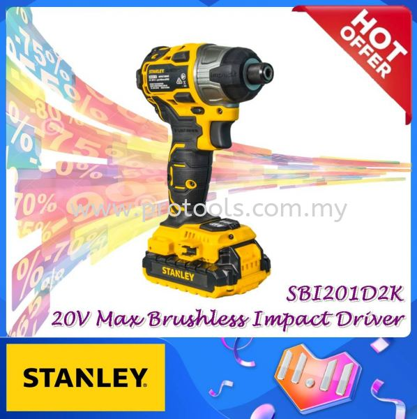 SBI201D2K 20V MAX BRUSHLESS CORDLESS IMPACT DRIVER MONTHLY PROMOTION PROMOTION Johor Bahru (JB), Malaysia, Senai Supplier, Suppliers, Supply, Supplies | Protools Hardware Sdn Bhd